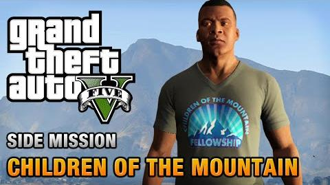 GTA 5 - Children of the Mountain T-Shirt