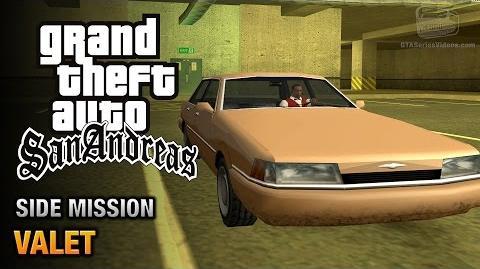 GTA San Andreas - Valet