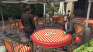 Switch Scenes GTAVe Michael Amanda Gentry Cafe