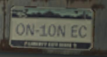 File:Vehicle license plate (GTA4) (numbered).jpg