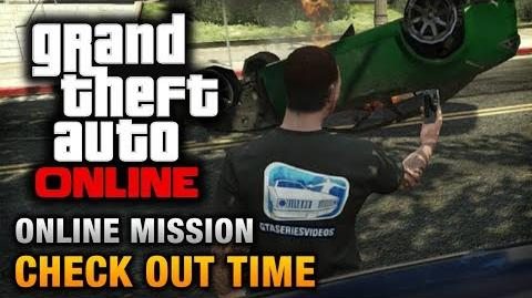 GTA Online - Mission - Check Out Time Hard Difficulty