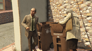 Nigel and Mrs Thornhill GTAV Mission