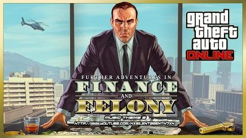 Grand Theft Auto GTA V 5 Online Finance and Felony - Power Play (Adversary Mode) Music Theme 2