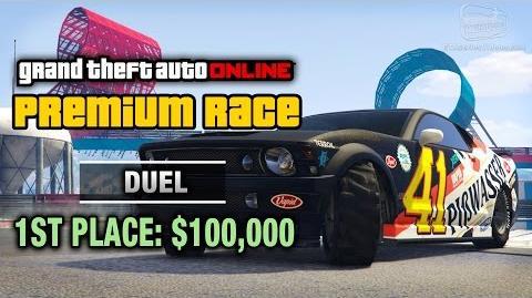 GTA Online - Premium Race 2 - Duel (Cunning Stunts)
