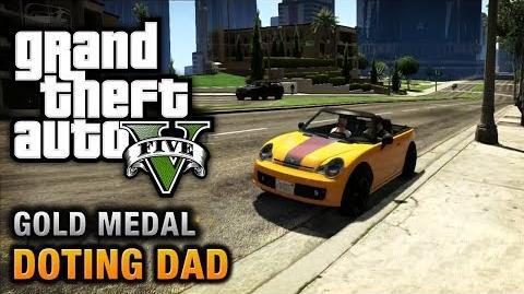 GTA 5 - Mission 64 - Doting Dad (Optional Mission) 100% Gold Medal Walkthrough