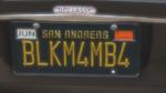 Custom Plate GTAO BLKM4MB4