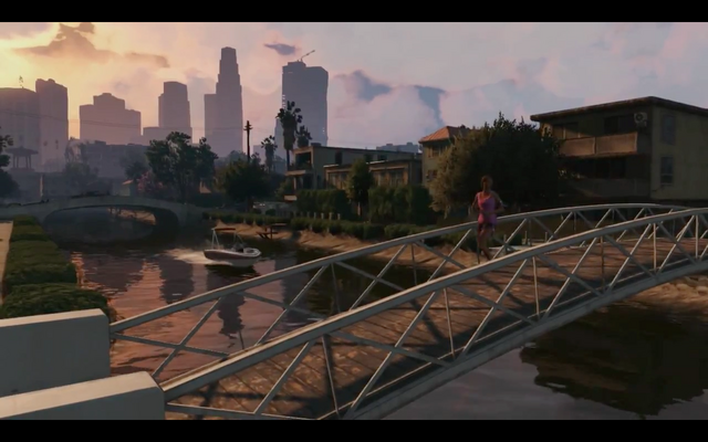 File:GTAV-LS-riverwithbridge-boatintheriver-frontview.png