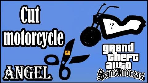 GTA San Andreas - Cut motorcycle ANGEL