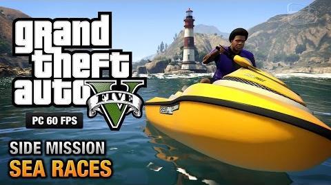 GTA 5 PC - Sea Races