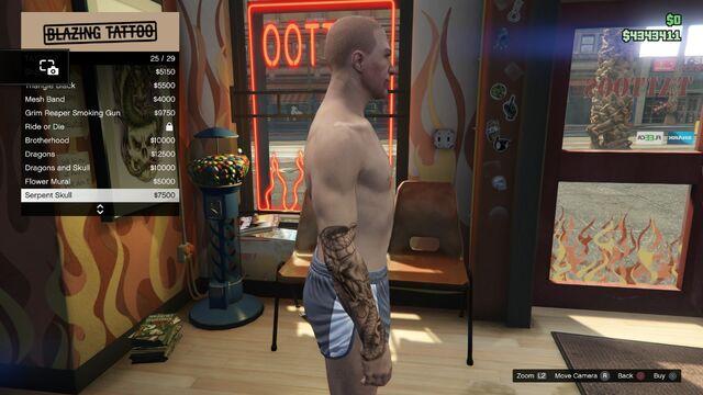 File:Tattoo GTAV Online Male Right Arrm Serpent Skull.jpg