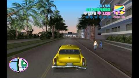Grand Theft Auto Vice City Gameplay Playthrough w Turbid TG1 Part 28 - Tom Vercetti, Taxi Driver