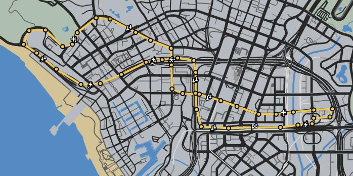 Rush Hour GTAO Verified Map