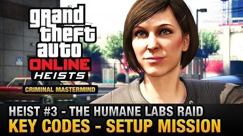 GTA Online Heist 3 - The Humane Labs Raid - Key Codes (Criminal Mastermind)