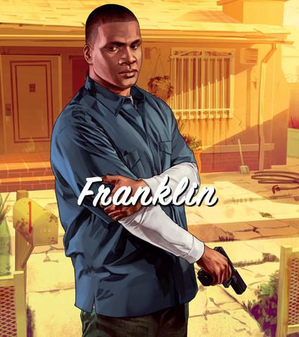 File:Franklin Artwork-GTAV.png