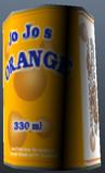 Jo jo's orange cola