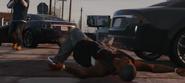 Franklin Killing a Ballas Member-GTAV
