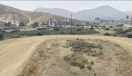 Yucca Motel GTAVe Site view from north