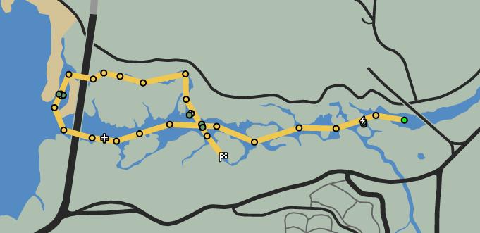 Delta V GTAO Race Map