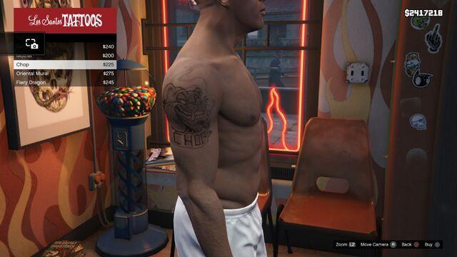 File:Tattoo Franklin Right Arm GTAV Chop.jpg