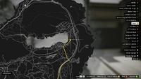 Vehicle Export Showroom GTAO Grapeseed South Buyer Map