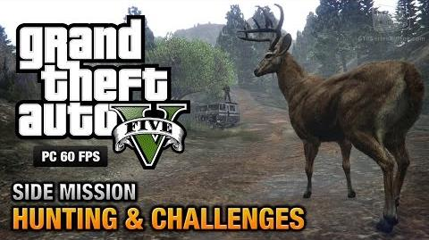 GTA 5 PC - Hunting & Challenges