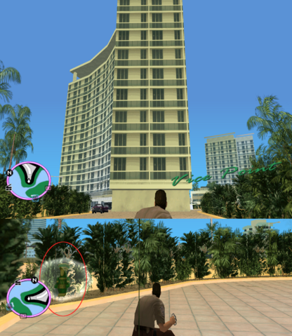File:GTAVC HiddenPack 32 West point of crescent hotel esplinade in bushs.png