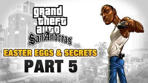 GTA San Andreas - Easter Eggs and Secrets - Part 5