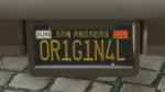 Custom Plate GTAO 0R1G1N4L