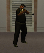 CarlJohnson GTASA Fat Selfportrait