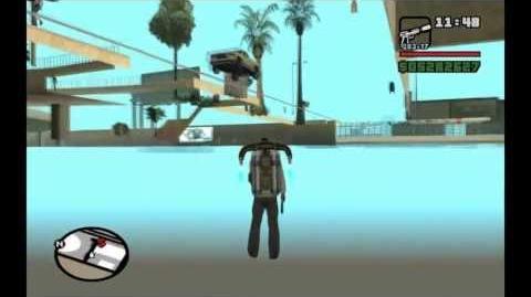 GTA San Andreas Texture Bug Compilation
