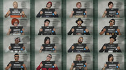 GTA Online mugshot collage