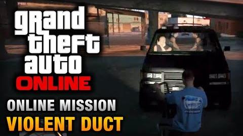 GTA Online - Mission - Violent Duct Hard Difficulty