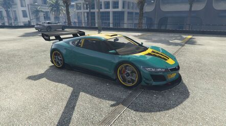 Los Santos Customs GTAVe Pre-Modified Jester