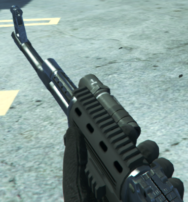 File:Assault Rifle Flashlight GTA V.png