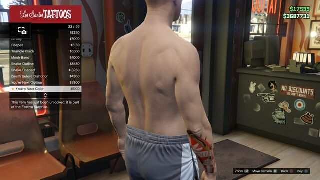 File:Tattoo GTAV Online Male Right Arm You're Next color.jpg