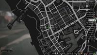 Vehicle Export Showroom GTAO Pinkslips Vespucci Map