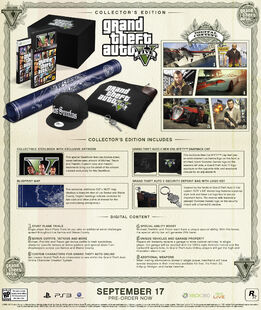 GTA V Collector's Edition