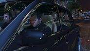 Official PC Screenshot GTAV Facebook Trio in car