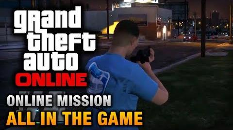 GTA Online - Mission - All in the Game Hard Difficulty