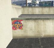 Monkey Mosaics GTAV Davis orange