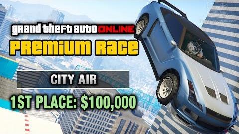 GTA Online - Premium Race 23 - City Air (Cunning Stunts)