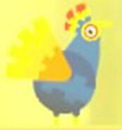 Pinata Chicken Form