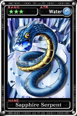 Sapphire Serpent