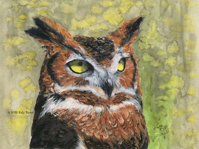 File:Art-300Great-Horned-Owl-in-Gouache5.jpg