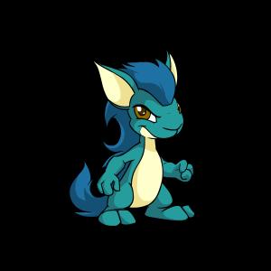 Blue kyrii
