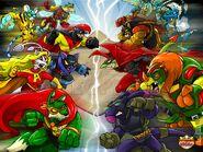 Defenders vs Villains