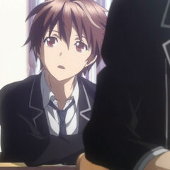 Shu finds out that Inori will be in his class