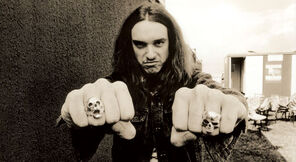 Cliff Burton sadly doesn't appear as a CGI character in Guitar Hero Metallica