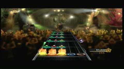 Guitar Hero 5 Song 2 (100% FC) Guitar