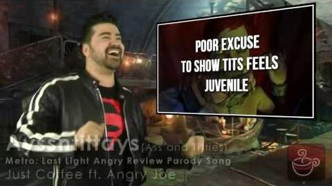 Just Coffee - Ayssntittays (Ass & Titties Parody ft. Angry Joe)